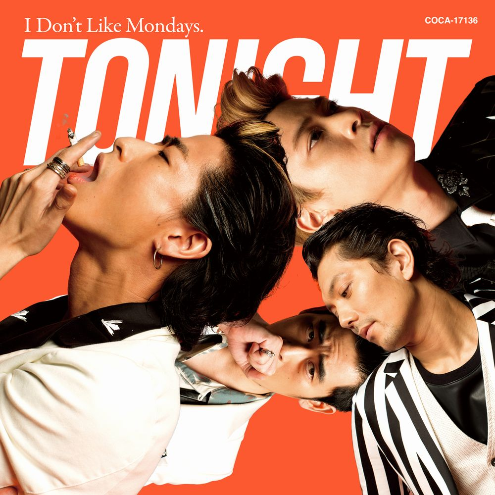 I Don't Like Mondays.「TONIGHT」ジャケット写真