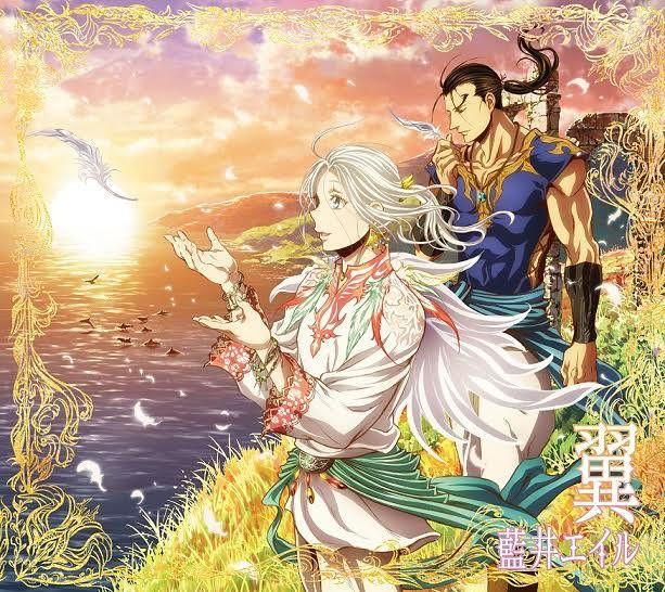 藍井エイル「翼」アニメ盤ジャケット