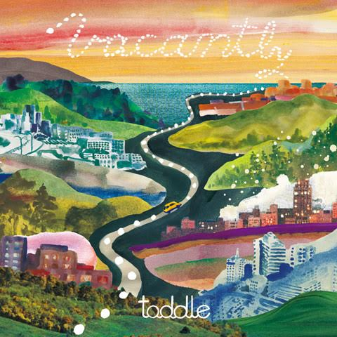 toddle「Vacantly」ジャケット写真
