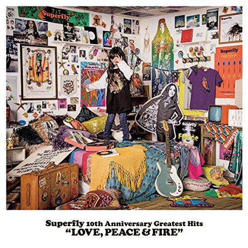 "Superfly 10th Anniversary Greatest Hits ""LOVE, PEACE FIRE"""