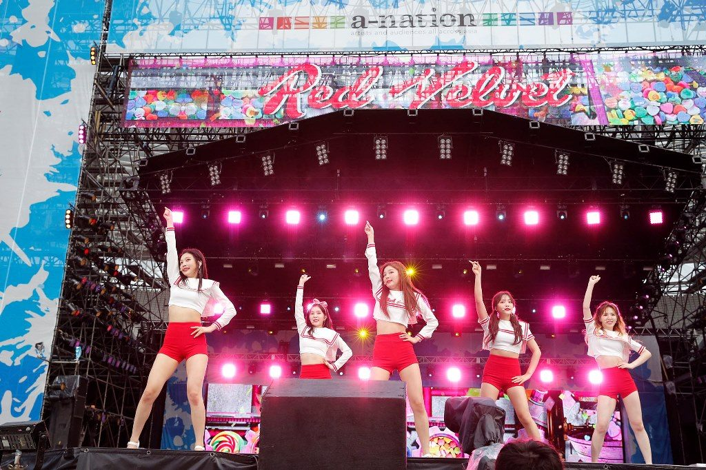 Red Velvet a-nation2017