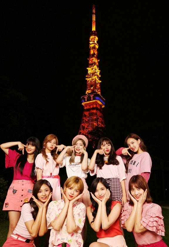 TWICE 東京タワー