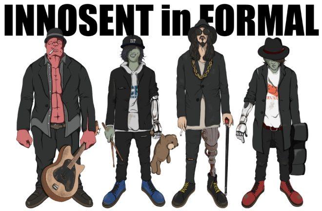 INNOSENT in FORMAL, イノセント・イン・フォーマル, Gorillaz, ゴリラズ