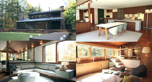軽井沢テラスハウスの家