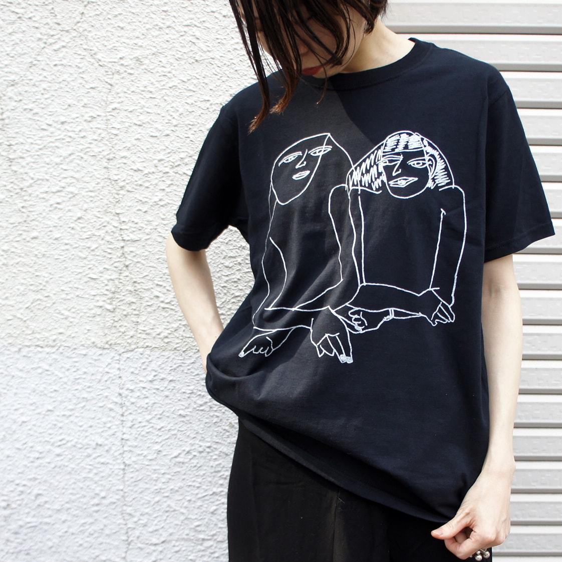 EVANStee:norahi〈UKABU apparel〉のTシャツ