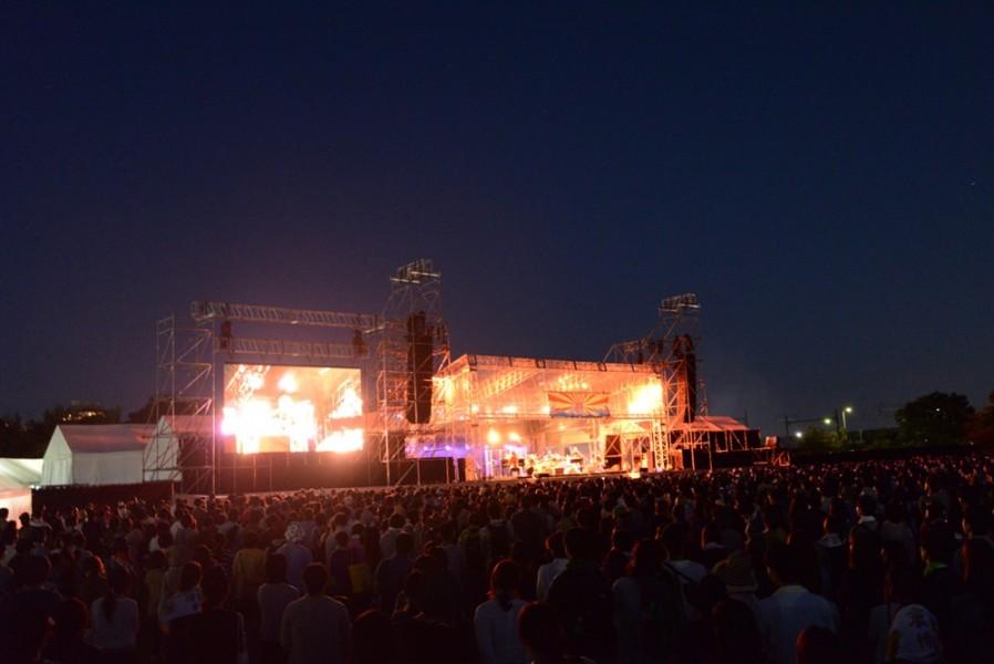 くるり主催の野外イベント「京都音楽博覧会」10回目の開催が決定