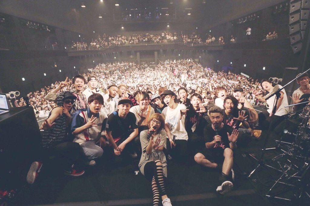 WHITE JAM / Zepp Tokyoでのワンマンライブの様子