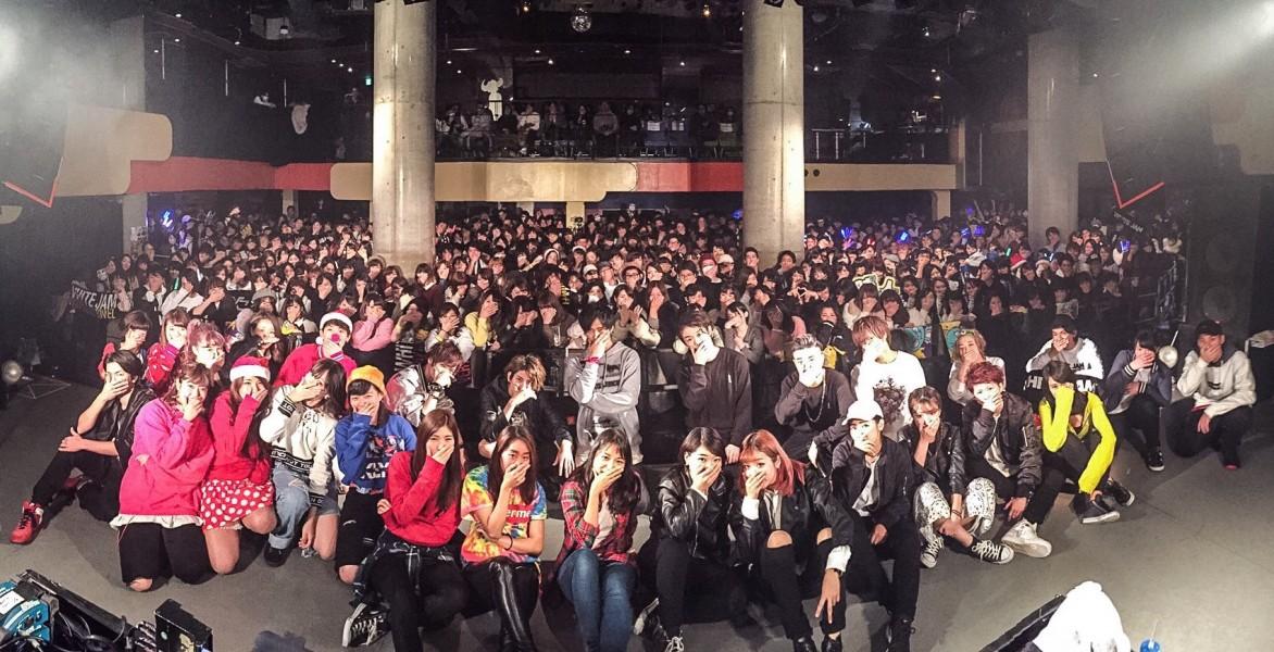 <ライブレポ>WHITE JAM ホームタウン東京・渋谷のライブレポート!