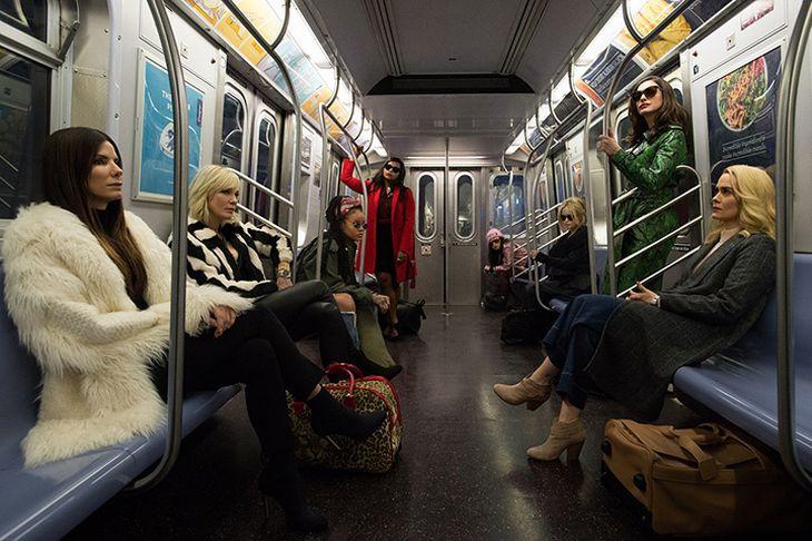 オーシャンズシリーズ最新作・映画『オーシャンズ8』は女性だけの犯罪チームが主役