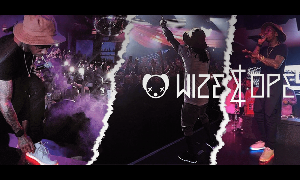 〈Wize & Ope〉の光るLEDシューズが超クール