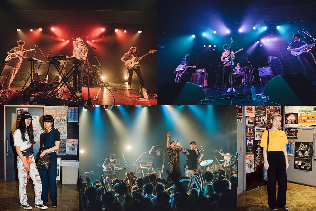 <ライブレポ>DATS、DYGL、The fin.、三つの才能が激突!リキッドルームに輝いた音楽の未来。
