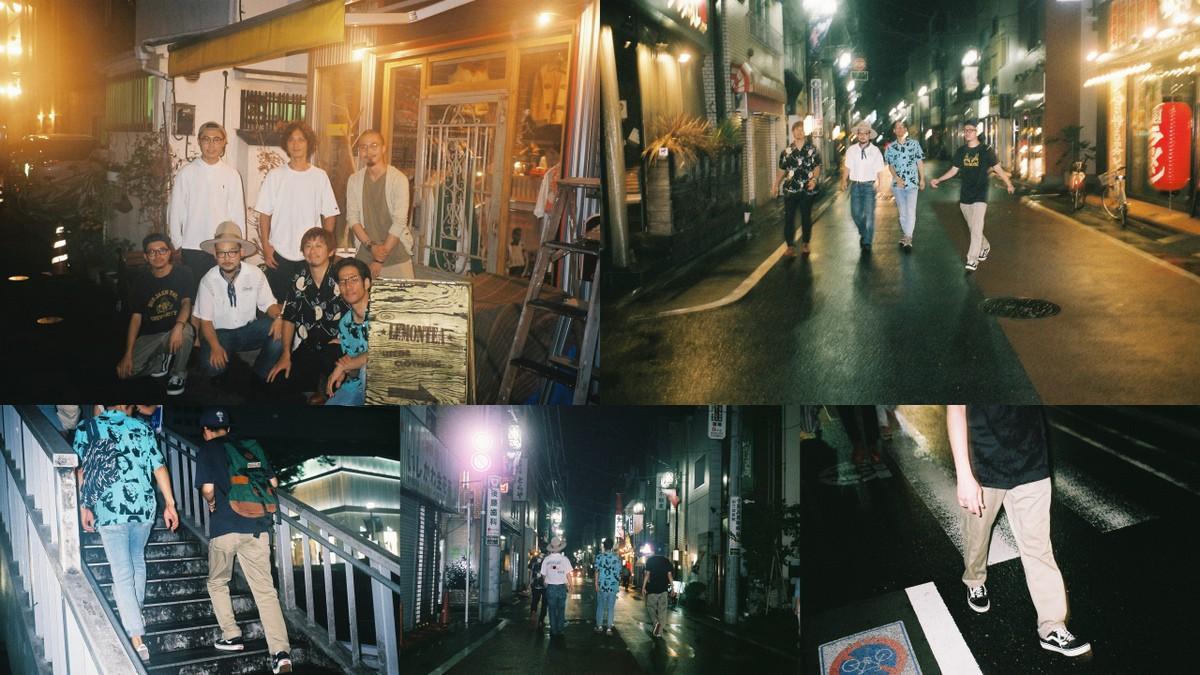 トレモノと古着屋巡りとナイトクルージング。トレモノメンバーと夜の街へ。