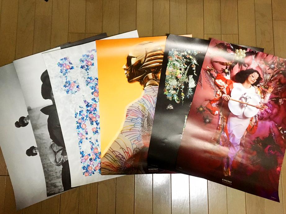 KIMONO ROBOT ポスター