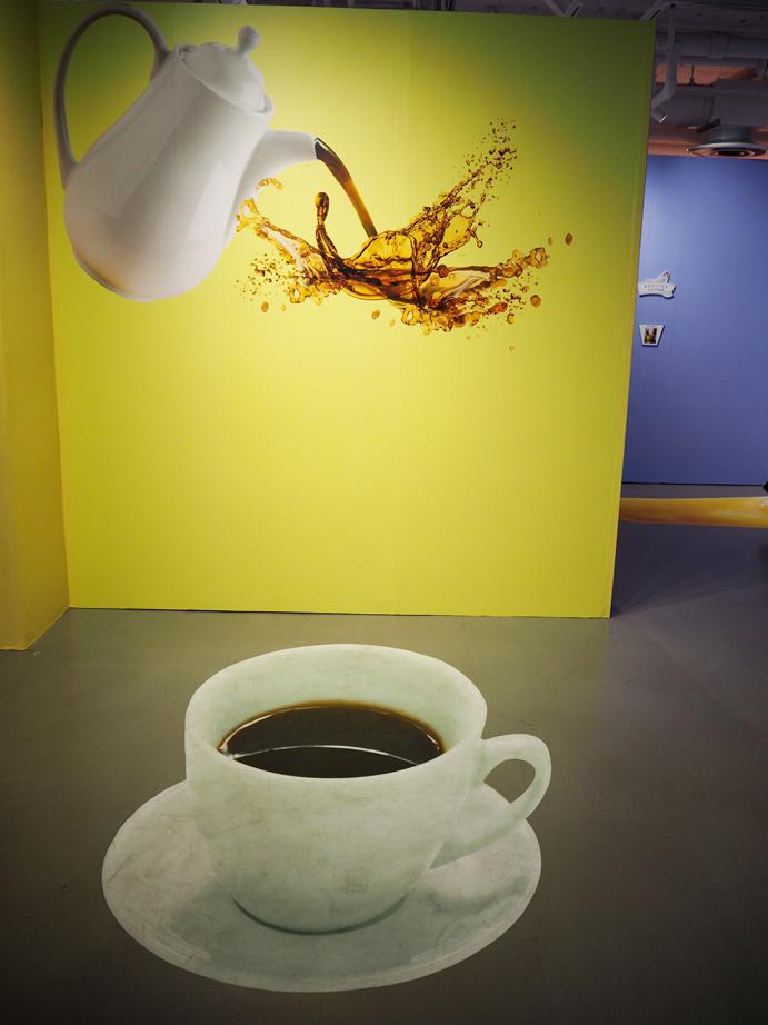 フチッコアートコーナー コーヒー