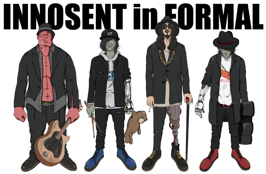 2018, バンド, 注目, INNOSENT in FORMAL