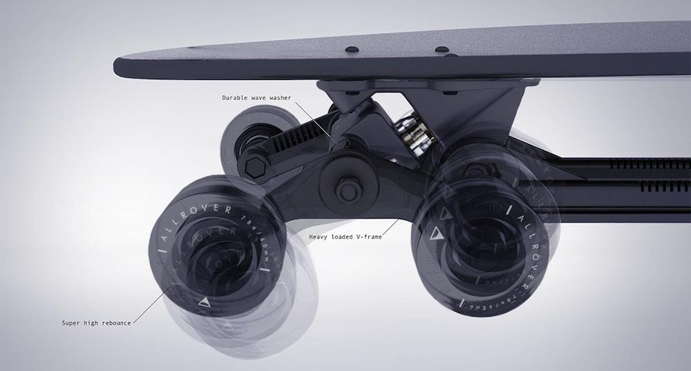 ステアローバー 8輪スケートボード