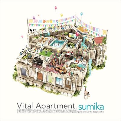 3rd Mini Album『Vital Apartment.』ジャケット画像