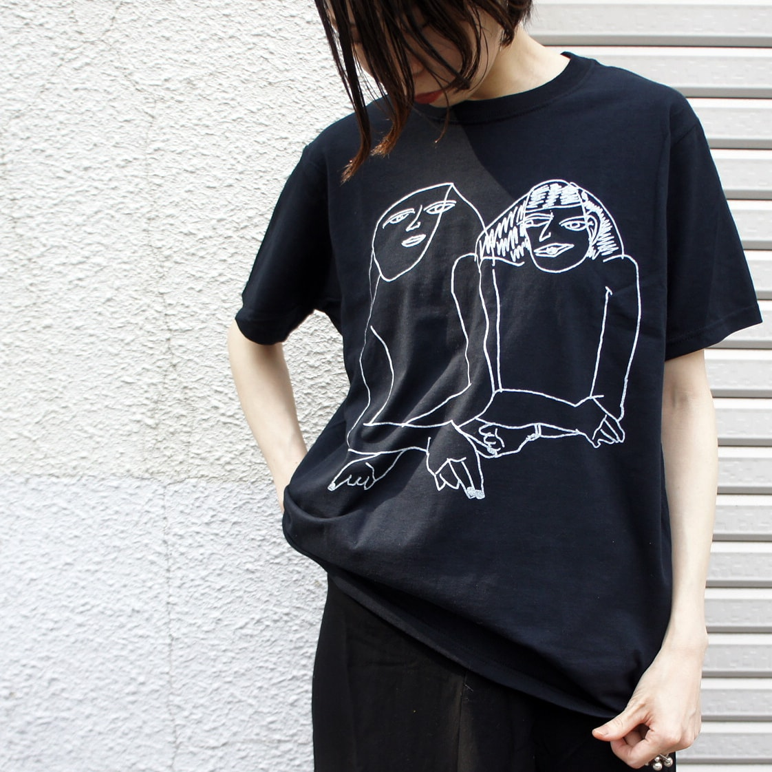 EVANStee:norahi〈UKABU apparel〉のTシャツ