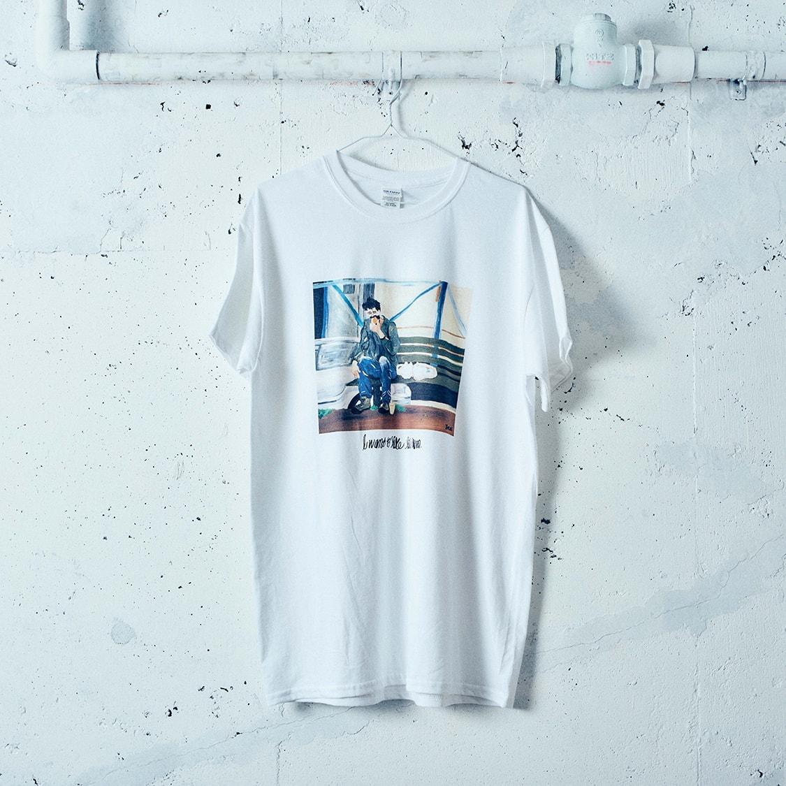 norahi×TENDREコラボレーションTシャツ「BENCH-T」
