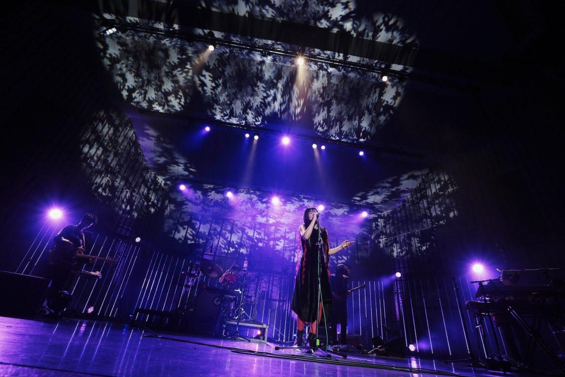 パスピエ『印象H』絵画のような日比谷野音 光と影と虫の声