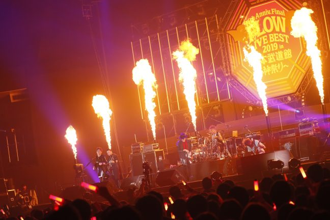 FLOW,武道館,ライブ,神祭り