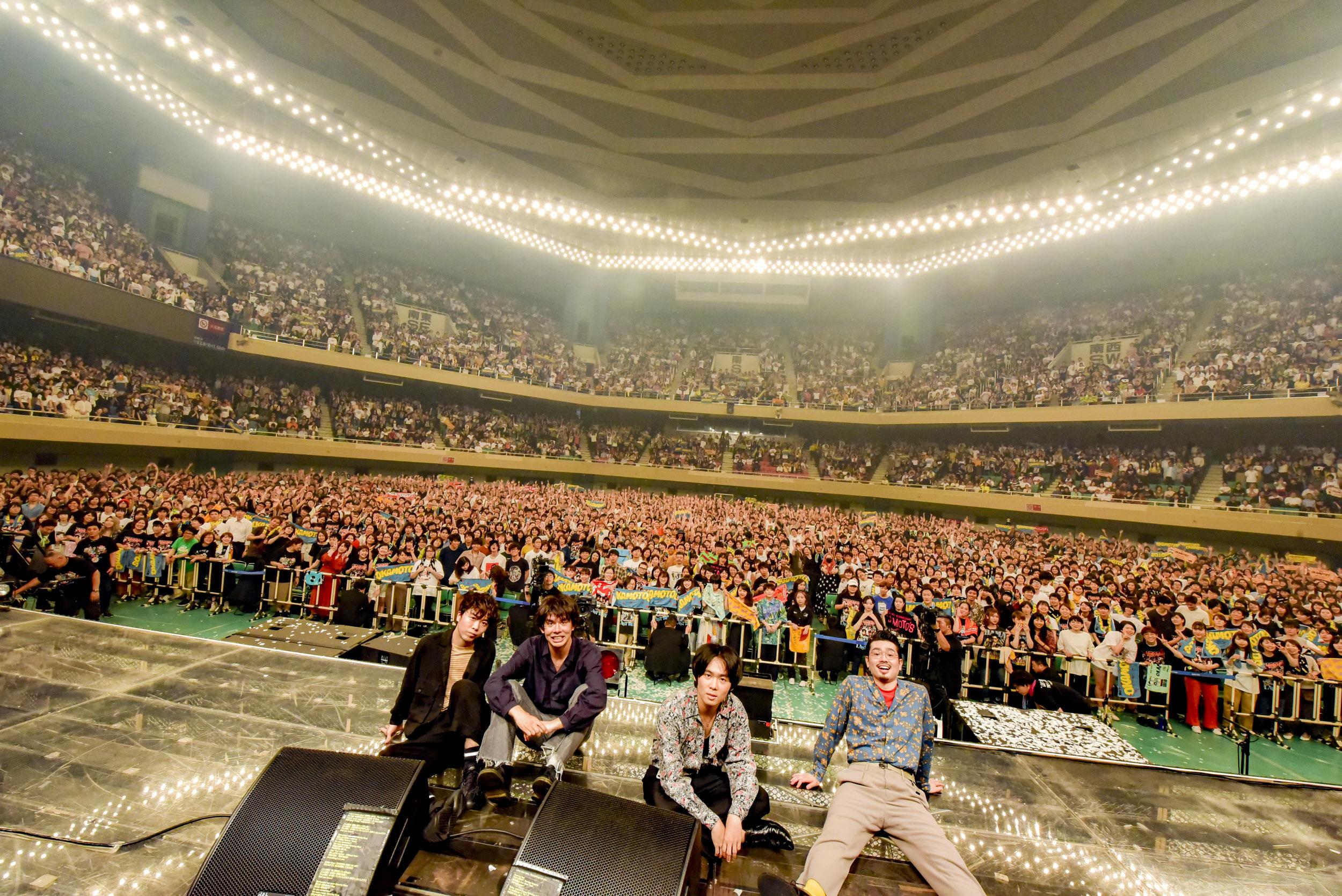OKAMOTO'S,武道館,ライブ,BOY
