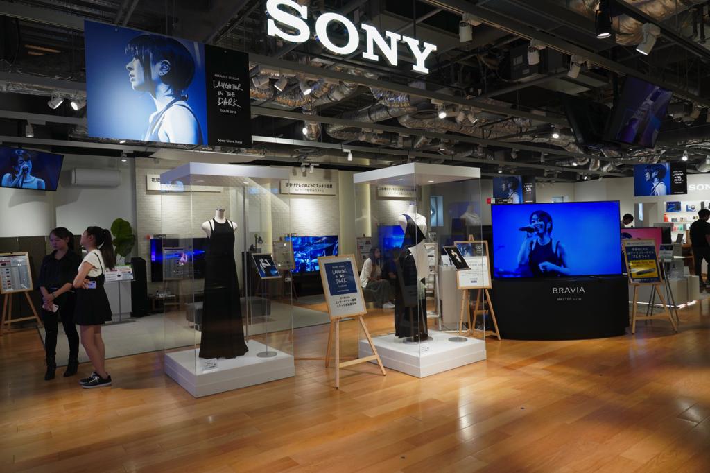 テクノロジーにも愛される、宇多田ヒカルのツアー音源を最新音響で体験。 ソニーストア銀座 イベントレポート