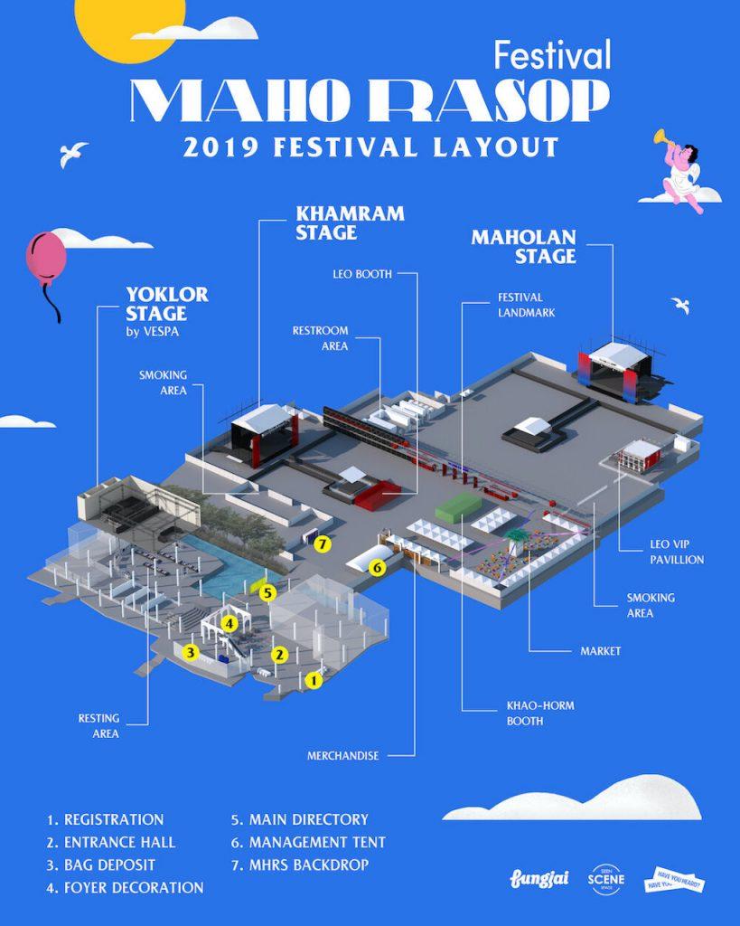 タイ フェス Maho Rasop Festival