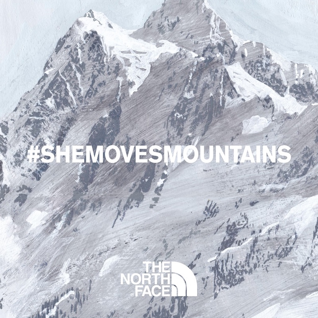 THE NORTH FACE,SHEMOVESMOUNTAINS,