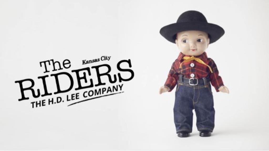 LeeのマスコットキャラBuddy Leeを等倍にしたコレクションに注目