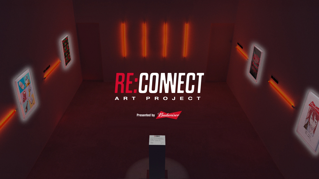 Budweiser、次はアートと「RE:CONNECT」