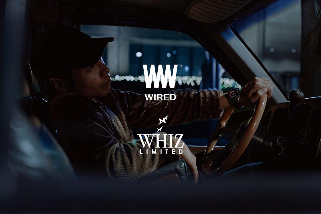 """WHIZ LIMITED x WIRED WW""コラボウオッチ発売!Ryohuの初オンラインライブをサポート"
