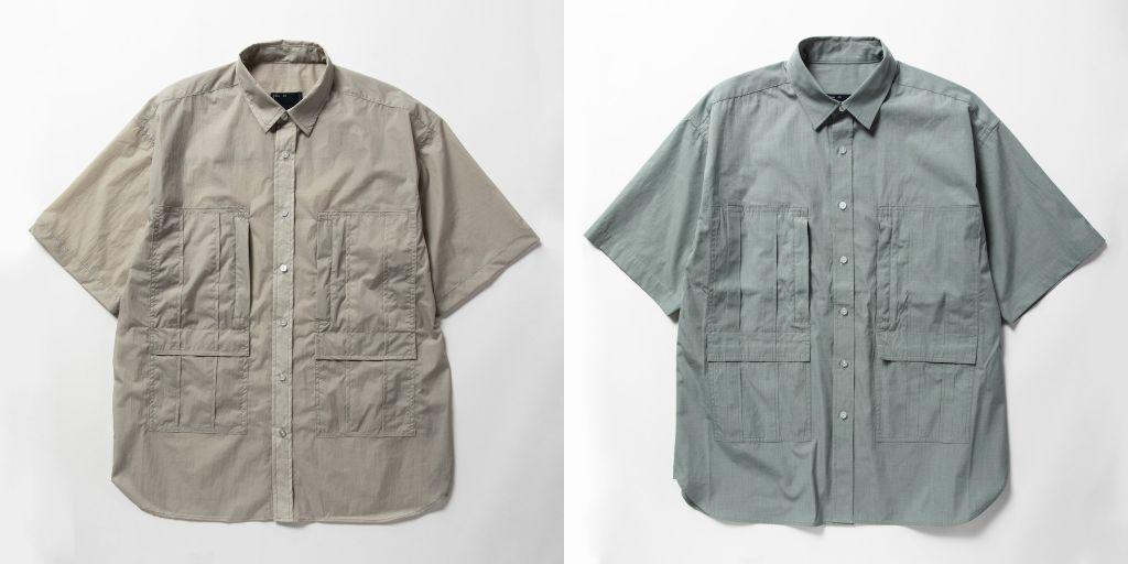 甲乙付け難いミーンズワイルのポケットシャツ