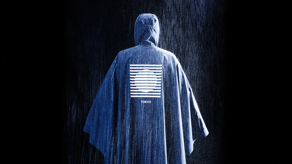 ザ・ノース・フェイス「青と国旗」インターナショナルコレクション