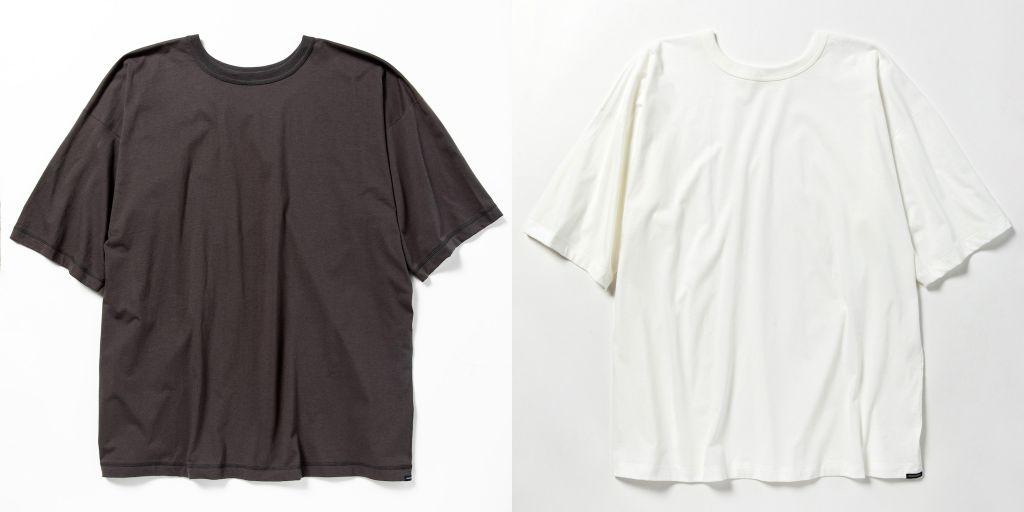 ミーンズワイルの前後表裏がないTシャツ「ボスサイドTシャツ」