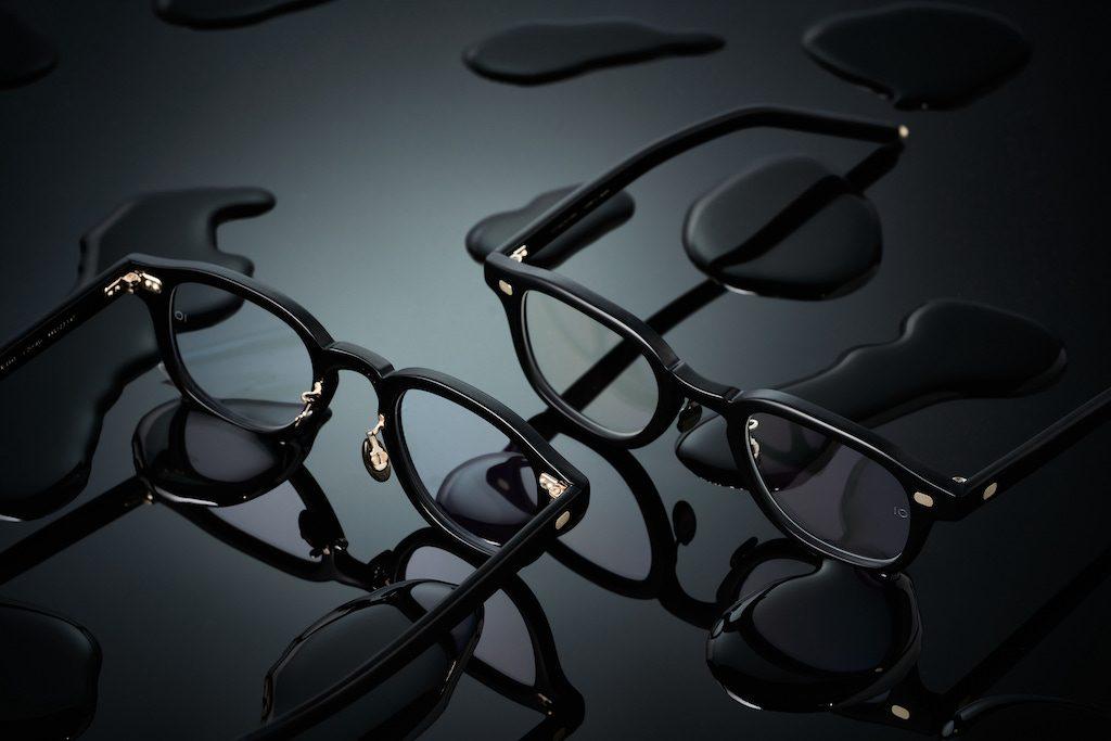10 eyevan,10 アイヴァン,10アイヴァン,セルロイド,インク,INK,ファットリム,直営店限定,漆黒,