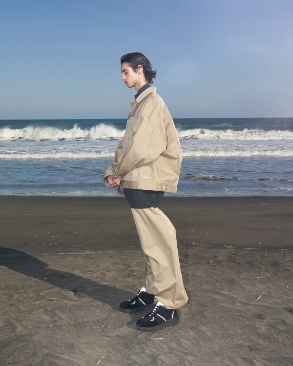ミーンズワイル「デザイン ≧ 機能」ディッキーズコラボ2ndジャケット